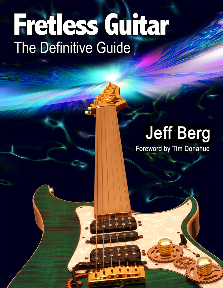 FRETLESS GUITAR The Definitive Guide Cover