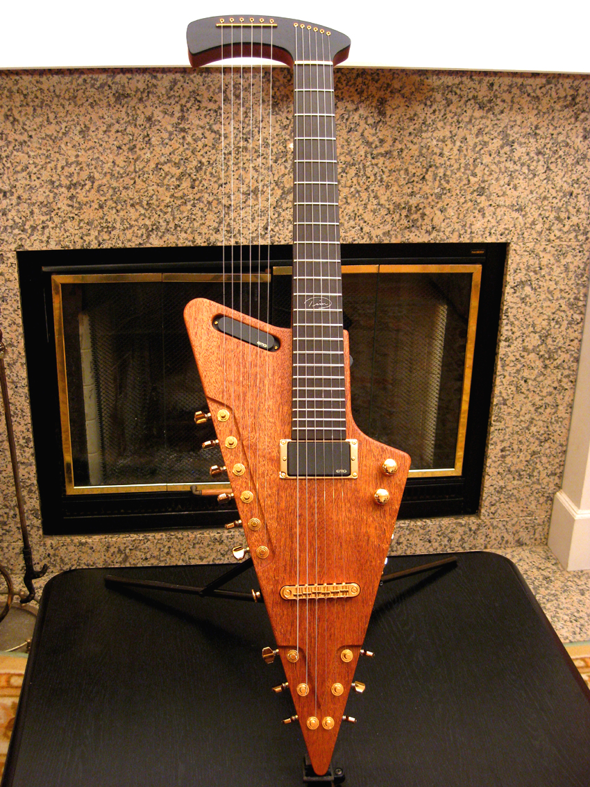 tim donahue signature harp guitars. Black Bedroom Furniture Sets. Home Design Ideas