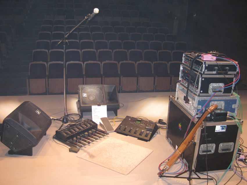 Tim Donahue Nirayama Japan Concert Stage Layout
