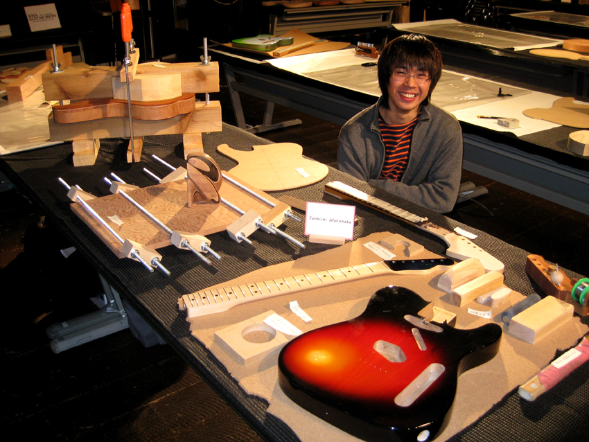WATANABE with his guitar project